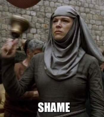 shame nun